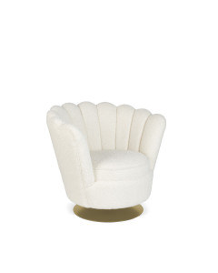 Bold Monkey Fauteuil Mother Of All Shells Teddy Natural