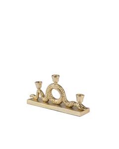 Bold Monkey Dinerkaarsen Kandelaar Keep The Snakes Away Gold