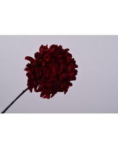 Silk-ka Kunstbloem Chrysant Rood 94cm