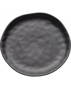 Kare Bord Organic Black Ø26cm