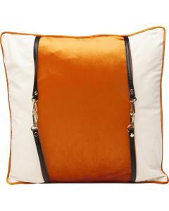 Kare Kussen Classy Belt Orange 45x45