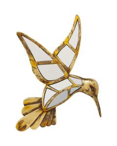 Kare Wanddecoratie Hummingbird Mirror