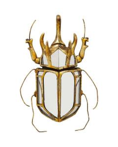 Kare Wanddecoratie Beetle Mirror