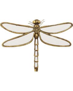 Kare Wanddecoratie Dragonfly Mirror