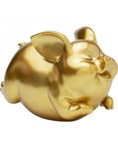 Kare Spaarpot Happy Pig Gold