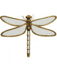 Kare Spiegel Dragonfly 45cm