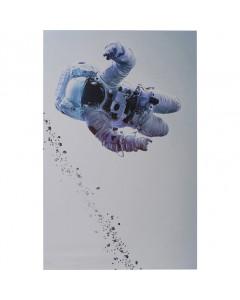 Kare Wandfoto Alu Man in the Sky 80x120 cm