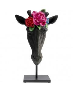 Kare Deco Object Mask Giraffe Flower