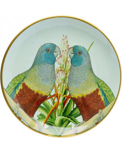 Kare Schaal Parrot Couple 35 cm