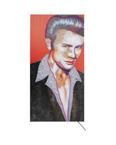 Kare Schilderij Idol James Neon 160x80cm