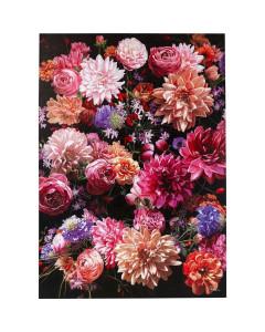 Kare Wandfoto Touched Flower Bouquet 200x140cm