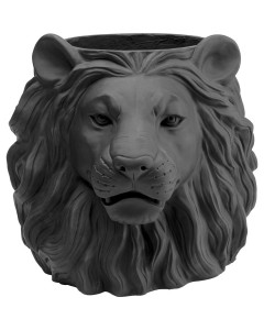 Kare Bloempot Black Lion 44 cm