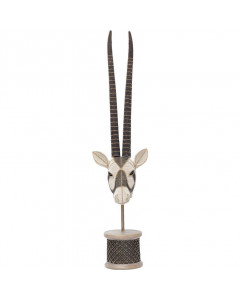 Kare Deco Object Antelope Head Pearls
