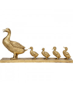 Kare Decofiguur Duck Family