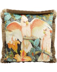 Kare Kussen Parrots Life 45x45 cm