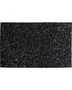 Kare Vloerkleed Glorious Black 170x240 cm