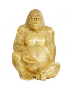 Kare Decofiguur Gorilla Gold XXL 249cm