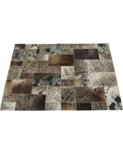 Kare Vloerkleed Squares Grey 170x240cm