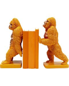 Kare Boekensteun Gorilla Orange (set van 2)
