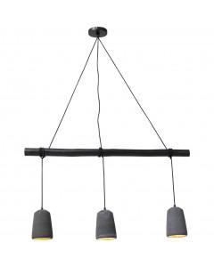 Kare Hanglamp Dining Concrete Zwart
