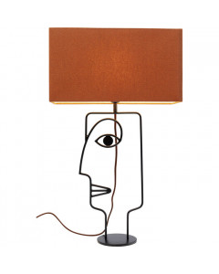 Kare Tafellamp Face Wire Orange
