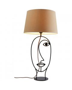 Kare Tafellamp Face Wire Nature