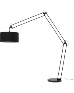 Kare Vloerlamp Geometry Zwart