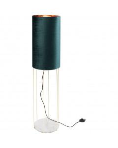 Kare Vloerlamp Cafetaria Lounge Turquoise 135 cm