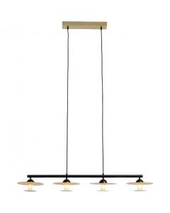 Kare Hanglamp Disc Dining Quattro 150cm