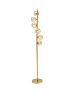 Kare Vloerlamp Scala Balls Brass 160cm