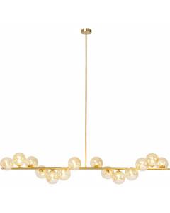 Kare Hanglamp Scala Balls Brass 155cm