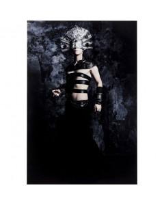 Kare Wandfoto Glass Fashion Adonis 100x150 cm