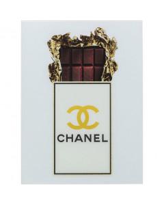 Kare Wandfoto Glass Rich Chocolate 60x80 cm