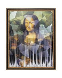 Kare Schilderij Mademoiselle Lisa