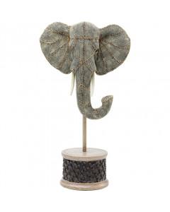Kare Deco Object Elephant Head Pearls