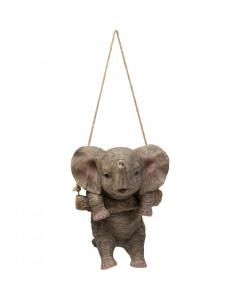 Kare Decofiguur Swinging Elephant
