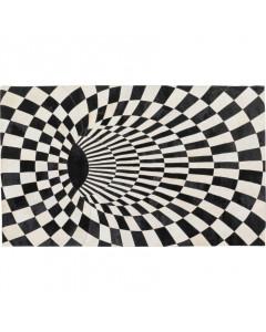 Kare Vloerkleed Creative Black White 170x240 cm