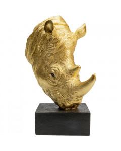 Kare Decofiguur Rhino Gold