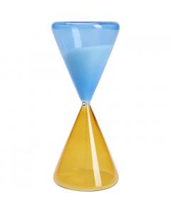 Kare Zandloper Timer Blue Orange