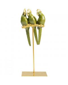 Kare Decofiguur Parrot Friends