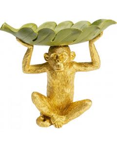 Kare Schaal Banana Leaf