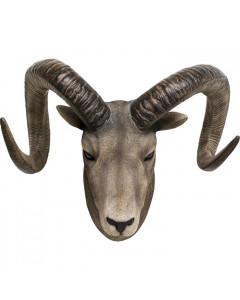 Kare Wanddecoratie Goat Head