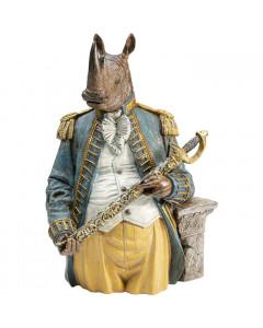 Kare Decofiguur Sir Angry Rhino