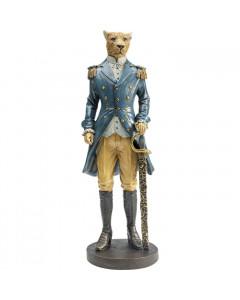 Kare Decofiguur Sir Leopard Standing
