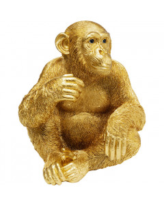 Kare Decofiguur Baby Ape Gold