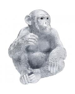 Kare Decofiguur Baby Ape Silver
