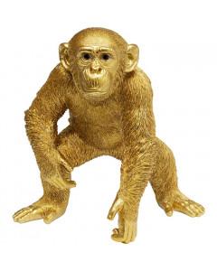 Kare Decofiguur Playing Ape Gold