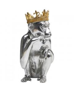 Kare Decofiguur King Lui Silver