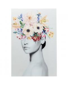 Kare Wandfoto Spring Hair 80x120cm