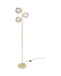 Kare Vloerlamp Three Balls Gold